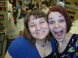 Me and hot mama may 2009